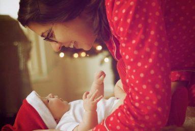Christmas with breathe ilo baby