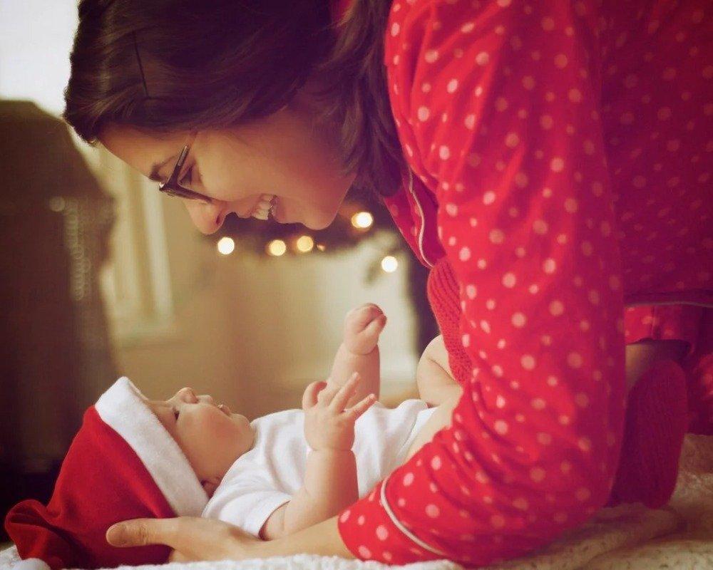 Weihnachten mit breathe ilo Baby
