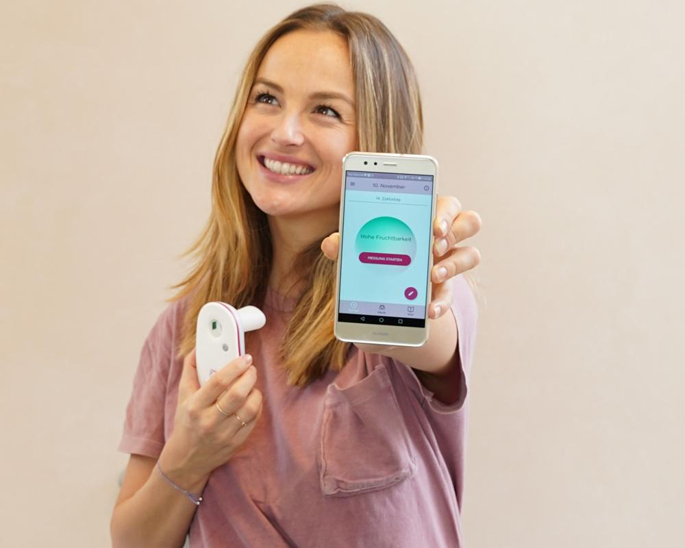 Determine fertile days with breathe ilo and the breathe ilo cycle app