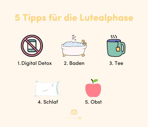 Tipps für die Lutealphase